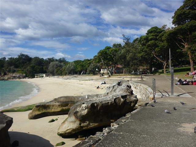 Beach at Neilsen Park Sydney